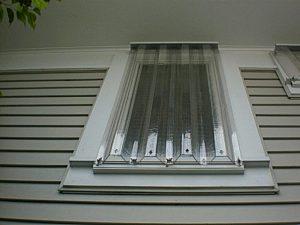 Clear Storm Panels Window