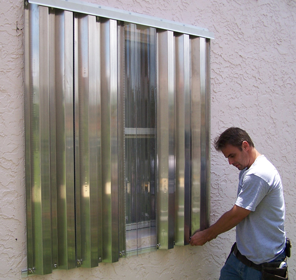 Ge Lexan And Protexan Clear Storm Panels Hurricane Shutters